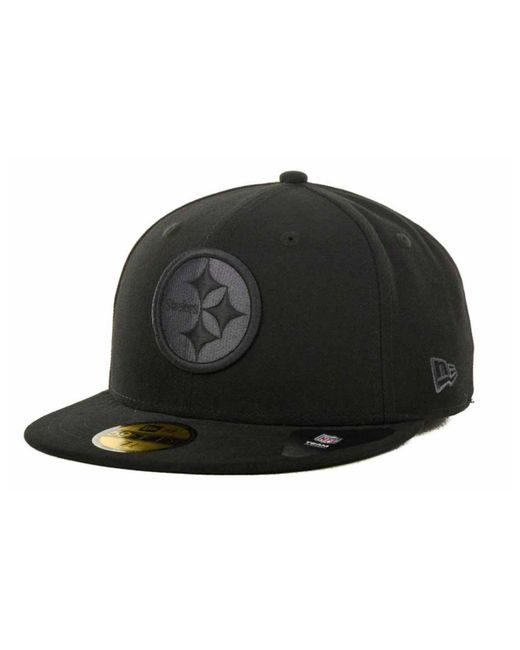 Lyst - Ktz New York Giants Black Gray 59fifty Hat in Black for Men 735f1b851fa0