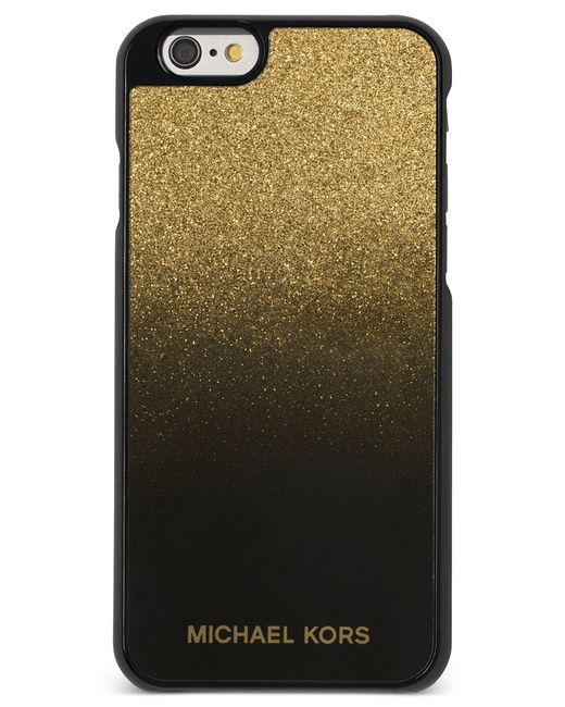 Michael kors michael electronics iphone 6 cover in green for Housse iphone 6 michael kors