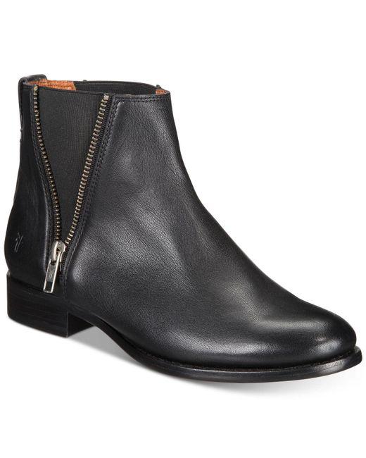 Frye | Black Carly Zip Chelsea Boots for Men | Lyst