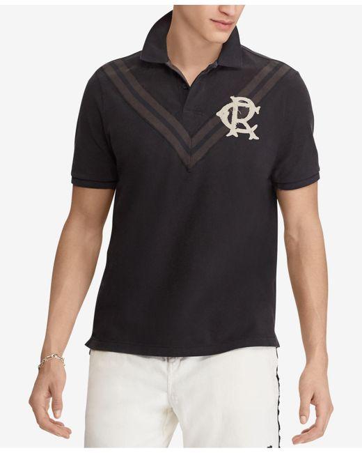 Polo Ralph Lauren - Black Classic Fit Cotton Mesh Polo for Men - Lyst