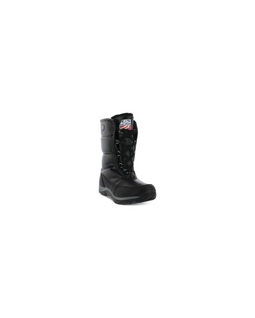 Khombu - Black Ski Team Lace-up Cold-weather Boots - Lyst