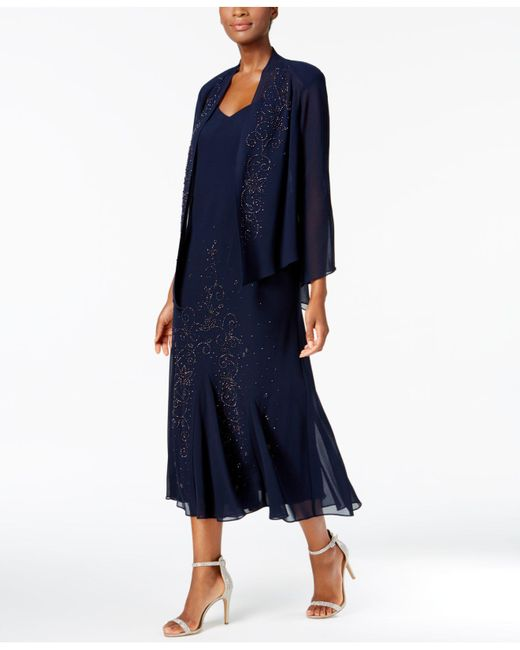 366a18583eeac Lyst - R   M Richards Dress And Jacket