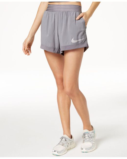 Nike - Gray Flex Dri-fit Training Shorts - Lyst