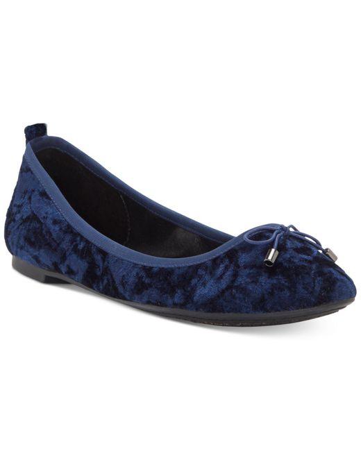 Jessica Simpson | Blue Nalan Embellished Ballet Flats | Lyst