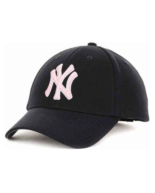 47 Brand - Blue New York Yankees Mvp Curved Cap for Men - Lyst