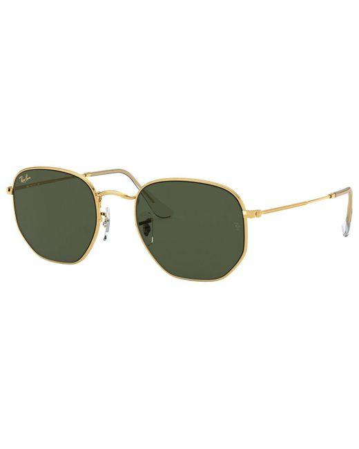 Ray-Ban Green Sunglasses, Rb3548 51
