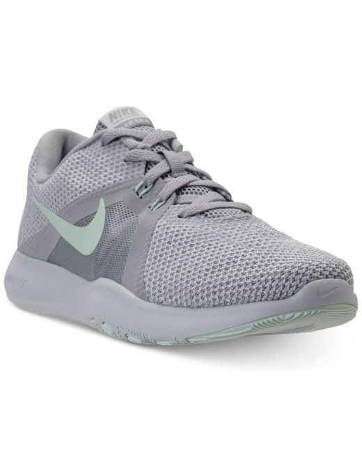 Nike - Gray Flex Trainer 8 Training Sneakers From Finish Line - Lyst