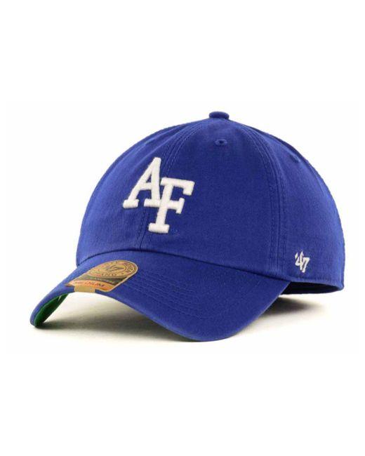 47 Brand - Blue Air Force Falcons Ncaa '47 Franchise Cap for Men - Lyst