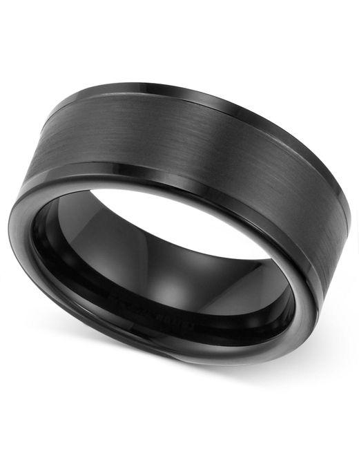 Triton - Multicolor 8mm Black Tungsten Wedding Band for Men - Lyst
