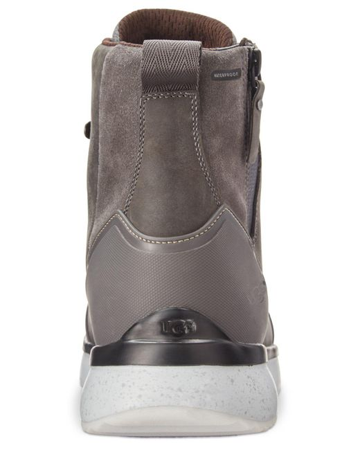 82b3be22069 Men's Gray Caulder Waterproof Boots