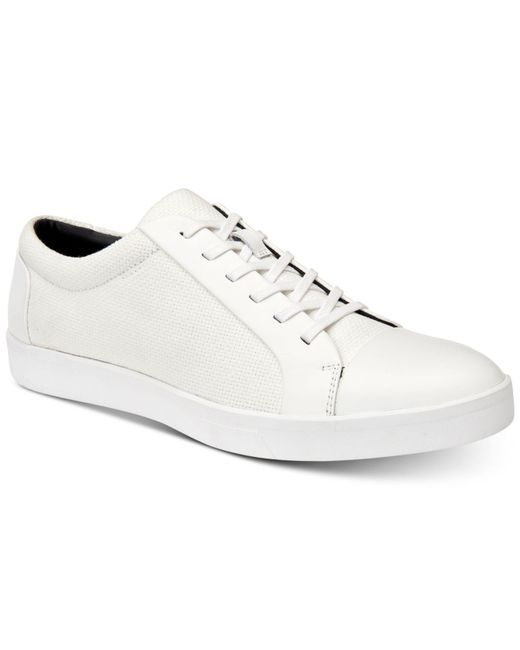 Calvin Klein - White Igor Lace-up Sneakers for Men - Lyst