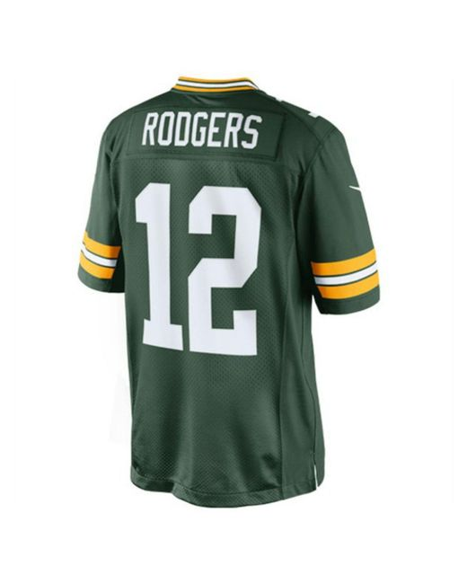 Nike Men's Aaron Rodgers Green Bay Packers Limited Jersey for men