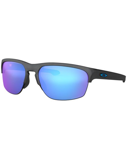 Oakley Blue Steel Slivertm Edge Sunglasses for men