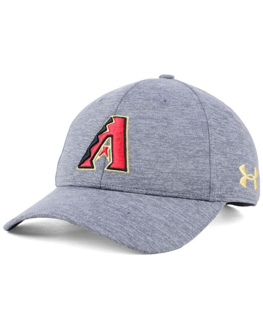 Under Armour - Gray Arizona Diamondbacks Twist Closer Cap for Men - Lyst ... 3f6069dbb59f