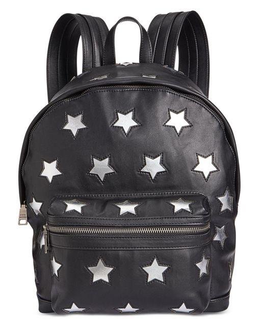Steve Madden - Black Star Small Backpack - Lyst
