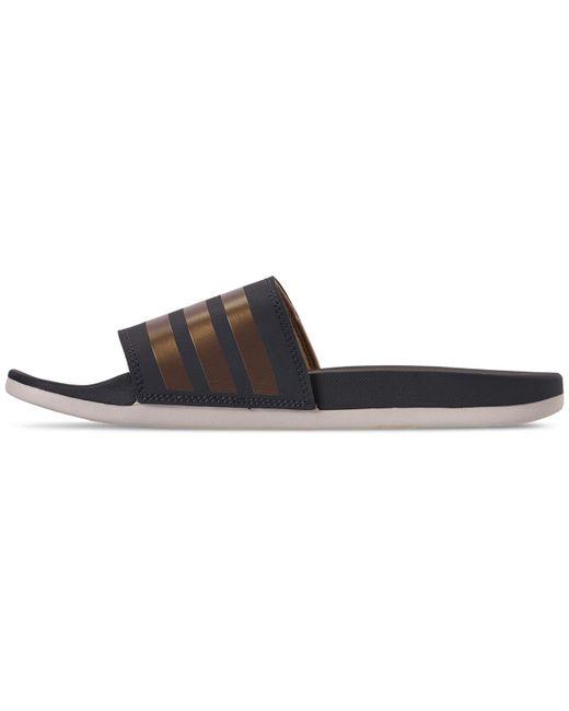 a157d3960fab6 ... Adidas - Multicolor Adilette Comfort Slide Sandals - Lyst ...