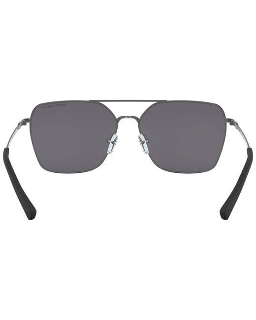 3fdc5535e145 ... Armani Exchange - Gray Polarized Sunglasses