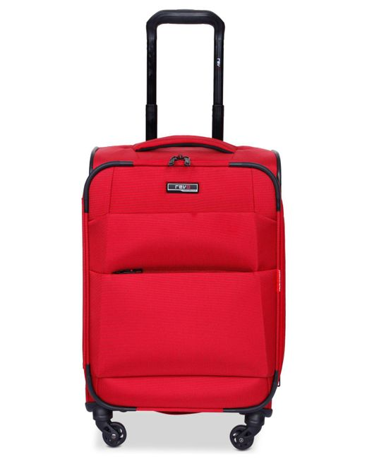 """Revo - Red Airborne 20"""" Softside Spinner Suitcase - Lyst"""
