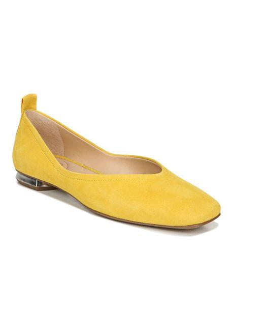 Franco Sarto Yellow Ailee Flats