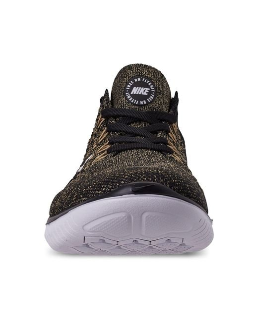 fa5259e32061 ... Nike - Black Free Rn Flyknit 2018 Running Sneakers From Finish Line for  Men - Lyst ...