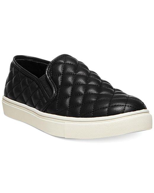 Steve Madden Black Ecentrc-q Platform Sneakers