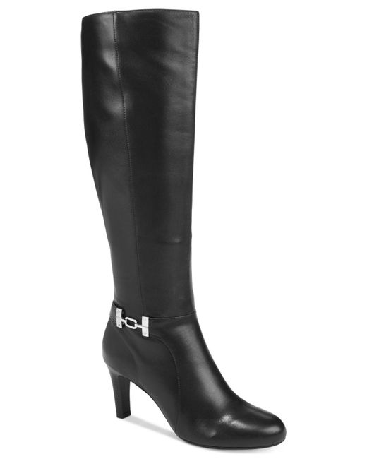 Bandolino | Black Lamari Dress Boots | Lyst