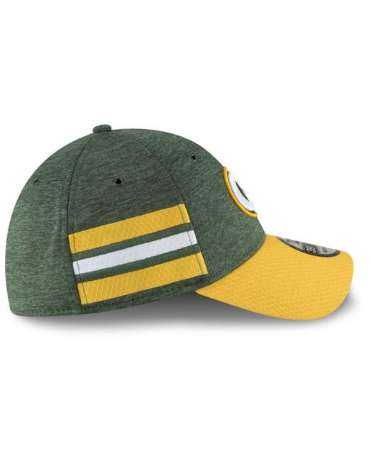e62c062c3 ... KTZ - Green Bay Packers On Field Sideline Home 39thirty Cap for Men -  Lyst ...