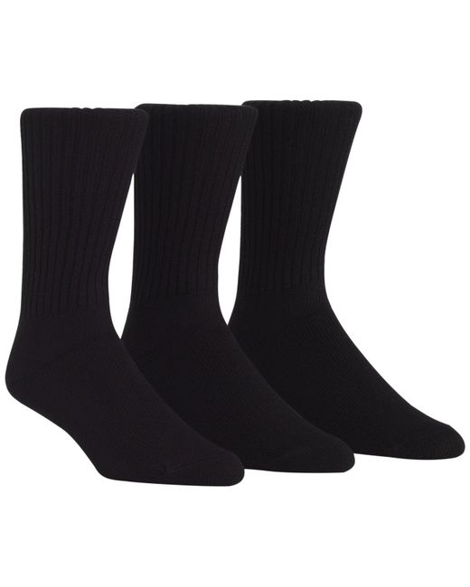 CALVIN KLEIN 205W39NYC - Black 3-pack Cotton Rich Casual Rib Socks for Men - Lyst