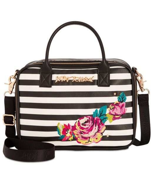 Betsey Johnson | Multicolor Embroidery Lunch Tote | Lyst