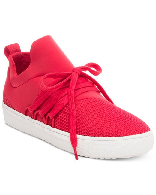 Steve Madden | Red Women's Lancer Athletic Sneakers | Lyst