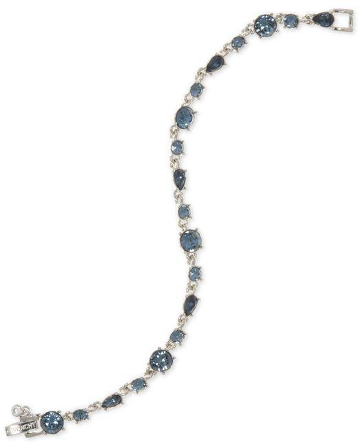 Givenchy   Silver-tone Blue Stone Flex Bracelet   Lyst