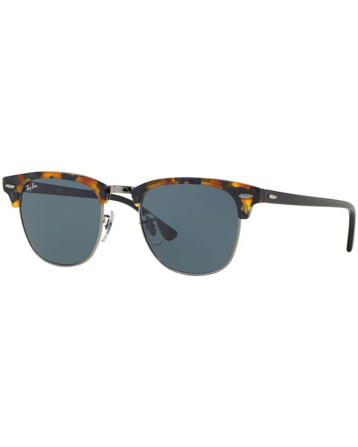Ray-Ban - Brown Sunglasses, Rb3016 51 Clubmaster - Lyst