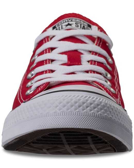 9a72ee903559 ... Lyst Converse - Red Men s Chuck Taylor All Star Sneakers From Finish  Line for Men ...