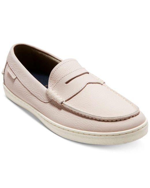 Cole Haan Pink Pinch Weekender Loafers for men
