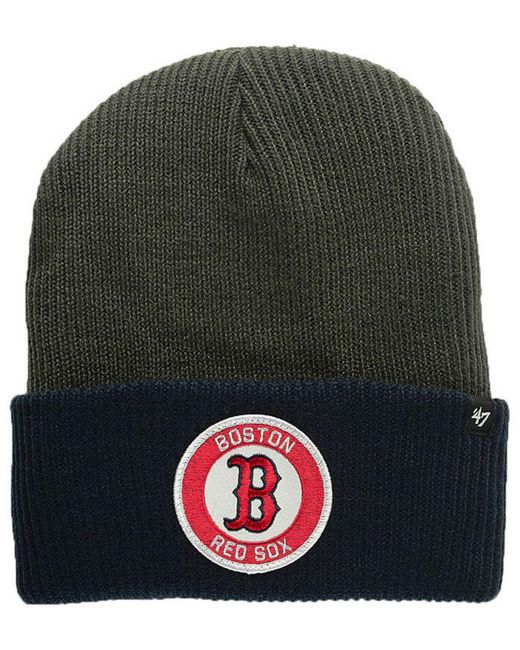 0469a30e39a14 47 Brand - Multicolor Ice Block Cuff Knit Hat for Men - Lyst ...