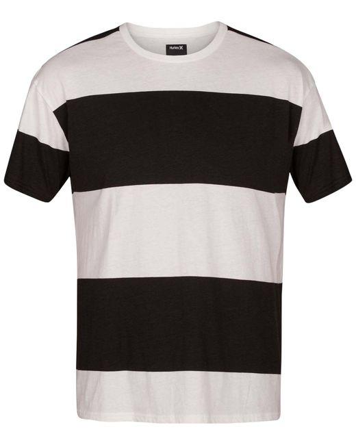 Hurley - Black Rugby Destroy T-shirt for Men - Lyst