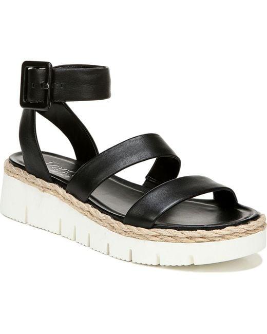 Franco Sarto Black Jackson Sport Sandals