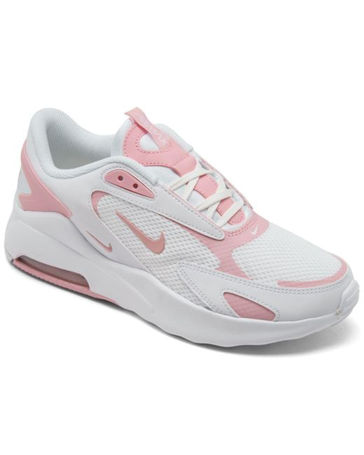 Nike White Air Max Bolt Casual Sneakers From Finish Line