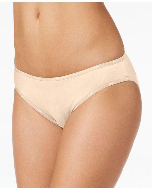 DKNY | Natural Comfort Classic Cotton Bikini 543097 | Lyst