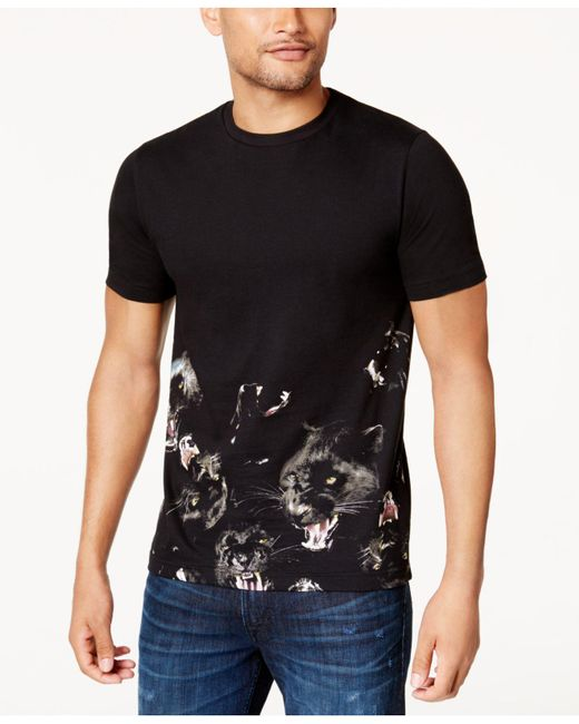 Sean John | Black Men's Graphic-print T-shirt for Men | Lyst