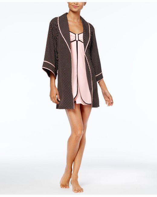 Kate Spade | Multicolor Dotted Short Robe | Lyst