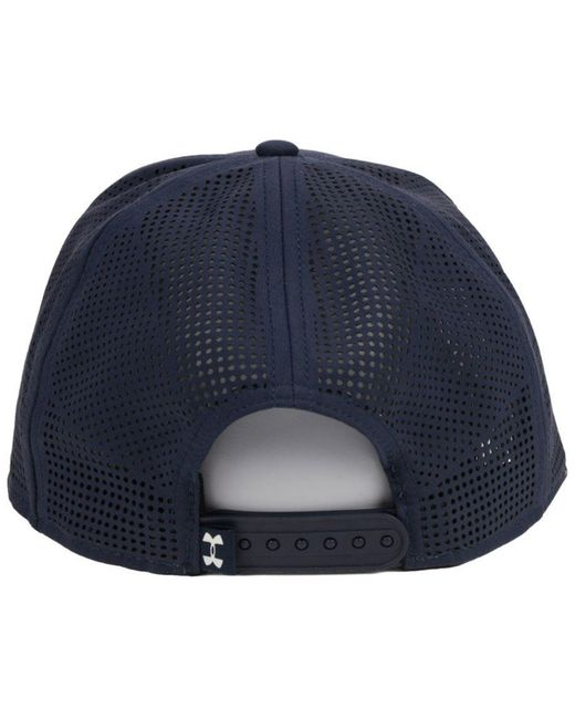 new product d30ae cfed2 ... closeout under armour blue seattle mariners supervent cap for men lyst  bfea3 888d6