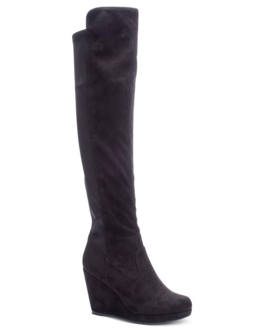 Chinese Laundry - Black Lavish Boots - Lyst