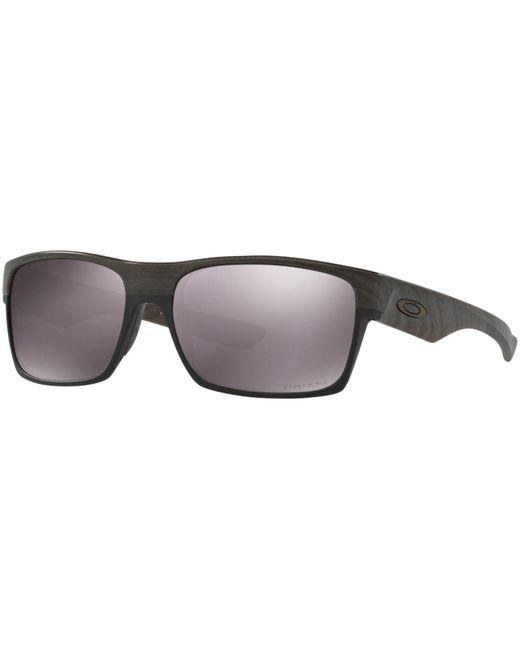 Oakley Black Polarized Twoface Prizm Daily Polarized Sunglasses , Oo9189 for men