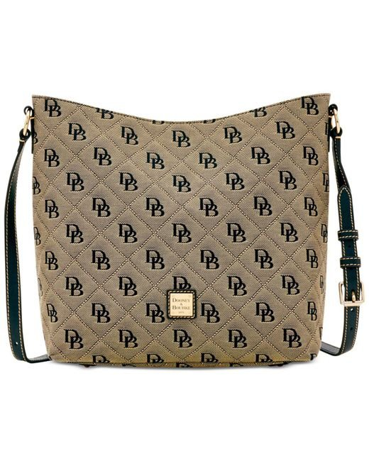Dooney & Bourke - Multicolor Signature Quilted Hobo Crossbody, Created For Macy's - Lyst