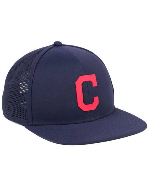 super popular a1c82 78104 ... switzerland under armour blue cleveland indians supervent cap for men  lyst e048f 1b9c4