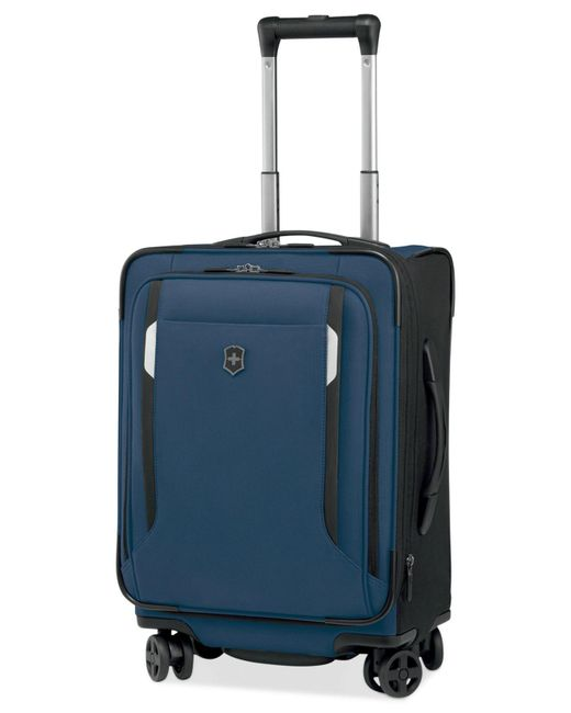 "Victorinox | Blue Werks Traveler 5.0 20"" Carry-on Dual Caster Spinner Suitcase for Men 