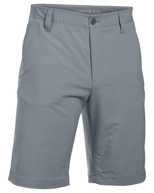 Under Armour   Gray Match Play Shorts for Men   Lyst