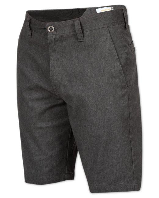 Volcom | Gray Men's Frickin Mod Stretch Shorts for Men | Lyst