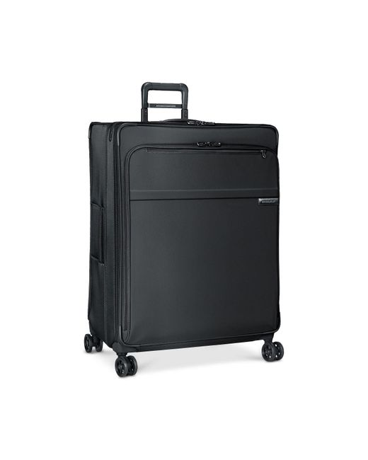 """Briggs & Riley - Black Baseline 31"""" Extra-large Expandable Spinner Suitcase for Men - Lyst"""